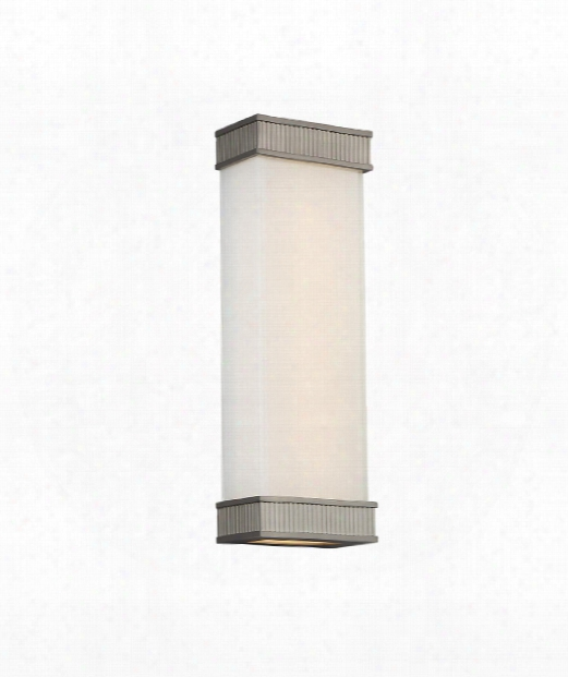 """Delano 6"""" Led 1 Light Wall Scconce In Satin Nickel"""