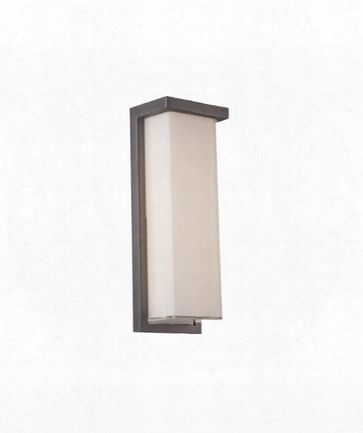 "Ledge 5"" Led 1 Light Outdoor Wall Light In Graphite"