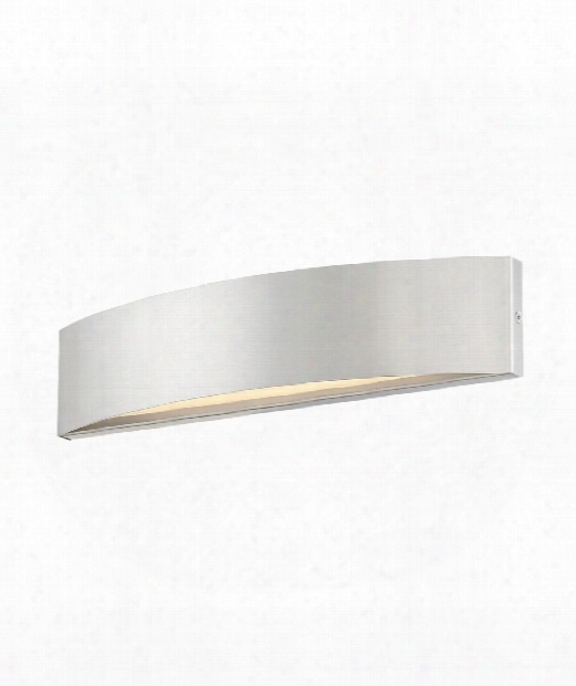 """Link 3"""" Led 1 Light Wall Sconce In Brushed Nickel"""