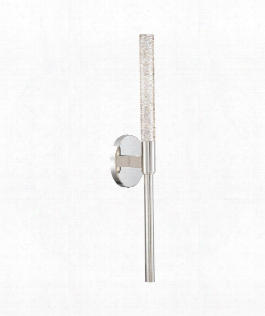 """Magic 5"""" Led 1 Light Wall Sconce In Polished Nickel"""