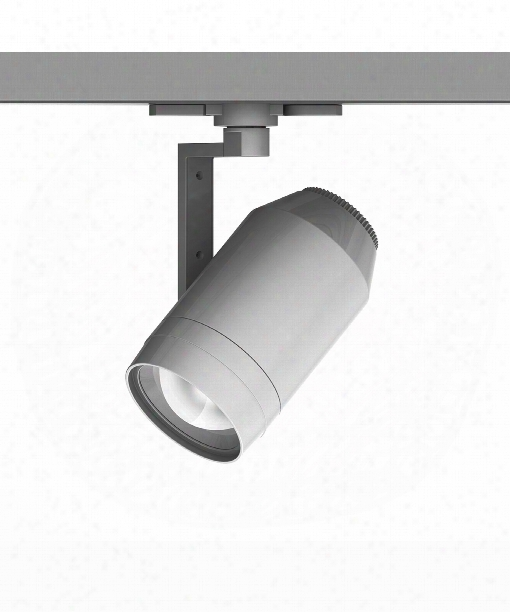 "Paloma 6"" Led 1 Light Track Head In Platinum"