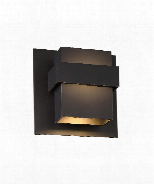 "Pandora 9"" Led 1 Light Outdoor Outdoor Wall Light In Oil Rubbed Bronze"