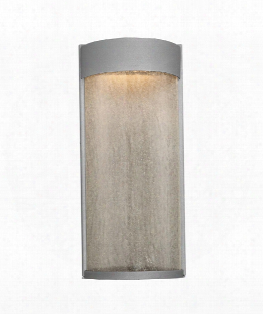 "Rain 7"" Led 2 Light Outdoor Outdoor Wall Light In Graphite"