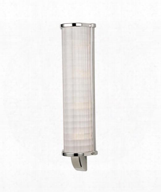"Arcadia 6"" 4 Light Bath Vanity Light In Polished Nickel"
