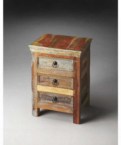 "Arya 16"" Drawer Chest In Artifacts"