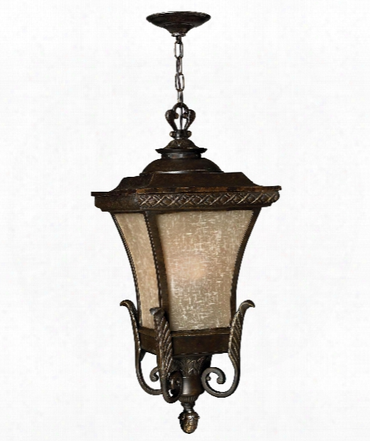 "Brynmar 12"" 1 Light Outdoor Hanging Lantern In Regency Bronze"