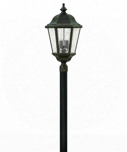 "Edgewater 16"" 4 Light Outdoor Outdoor Post Lamp In Oil Rubbed Bronze"