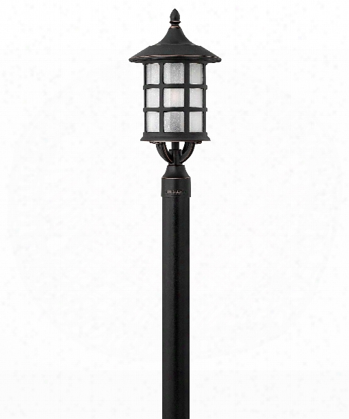 """Freeport 10"""" 1 Light Outdoor Outdoorp Ost Lamp In Olde Penny"""