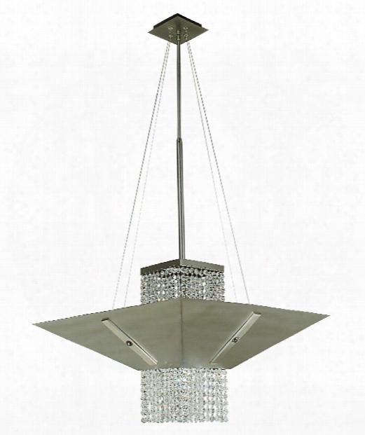 "Gemini 18"" 1 Light Large Pendant In Satin Pewter"