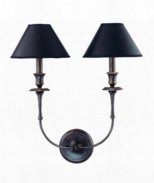 "Jasper 18"" 2 Light Wall Sconce In Old Bronze"