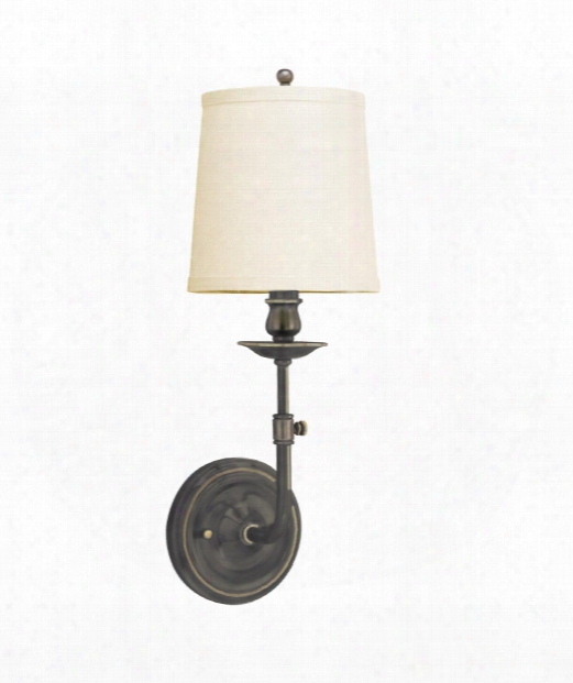 "Logan 6"" 1 Light Wall Sconce In Old Bronze"
