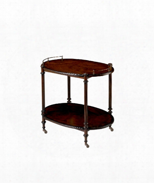 "Plantation Cherry 31"" Accent Table In Plantation Cherry"