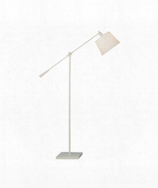 "Real Simple 10"" 1 Light Reading Lamp In Winter White Powder"