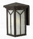 """Drake 8"""" 1 Light Outdoor Outdoor Wall Light in Oil Rubbed Bronze"""