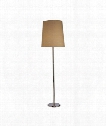 "Rico Espinet Buster 12"" 1 Light Floor Lamp in Polished Nickel"