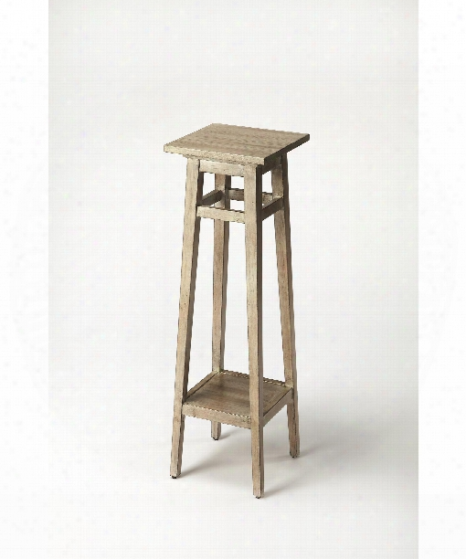"Butler Loft 12"" Accent Table In Driftwood Gray"