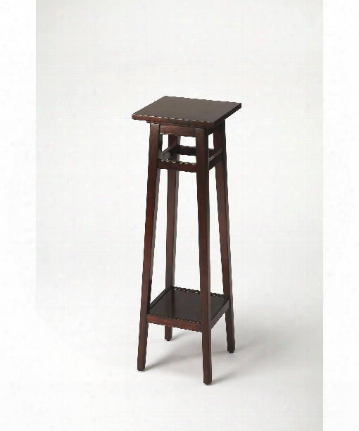 """Butler Loft 12"""" Accent Table In Plantation  Cherry"""