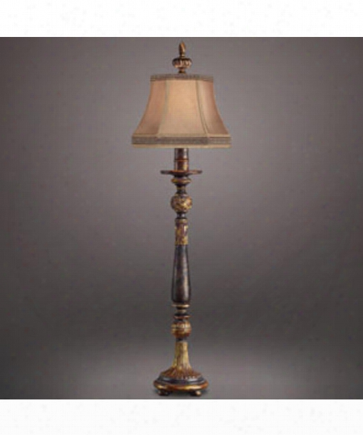Castile 1 Light Synopsis Lamp In Antiqued Gold Leaf