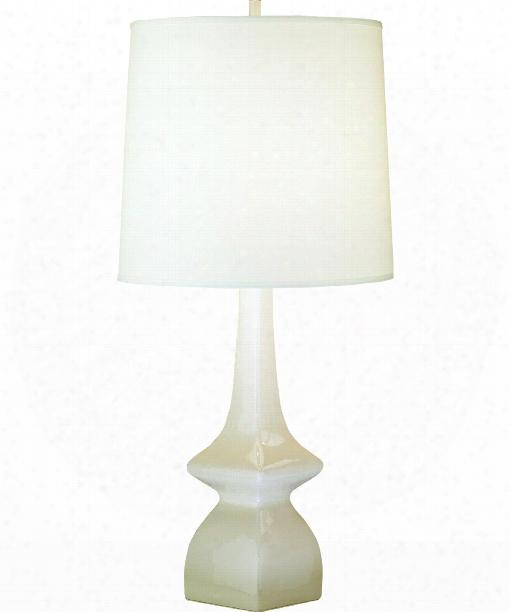 "Jayne 5"" 1 Light Table Lamp In Oat Glazed Ceramic"