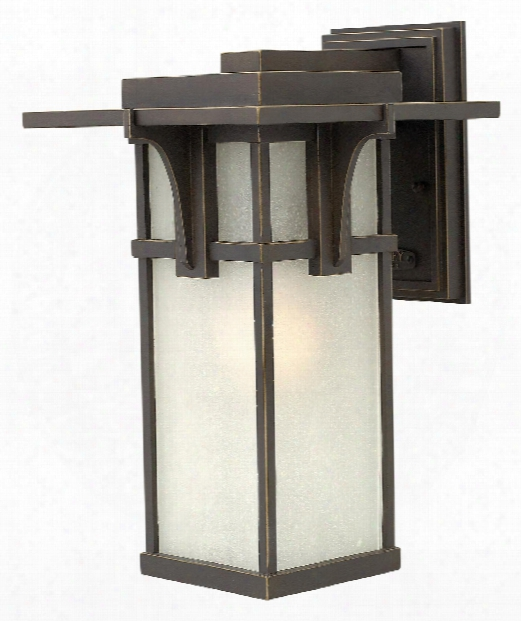 "Manhattan 9"" 1 Light Outdoor Outdoor Wall Light In Oil Rubbed Bronze"
