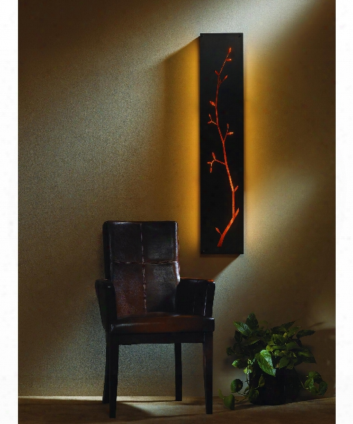 """Silhouette 10"""" 2 Light Wall Sconce In Mahogany"""
