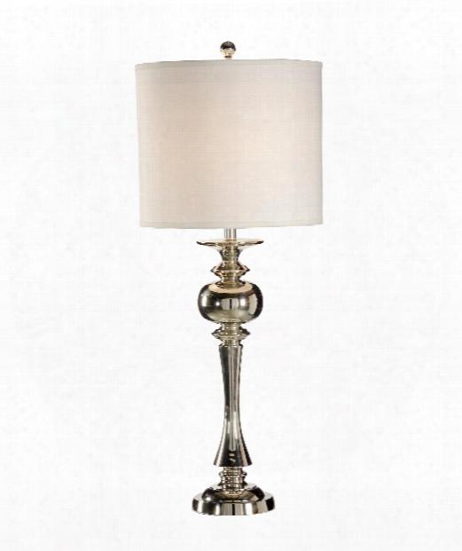 Skirted Urn Lamp 1 Light Table Lamp In Cast Brass