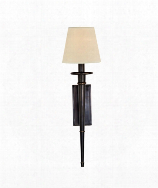 """Stanford 6"""" 1 Light Wall Sconce In Old Bronze"""