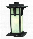 "Manhattan 11"" LED 1 Light Outdoor Outdoor Pier Lamp in Oil Rubbed Bronze"