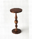 "Masterpiece 14"" Accent Table in Antique Cherry"