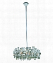 "Picasso 18"" 4 Light Large Pendant in Chrome"