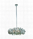 "Picasso 21"" 6 Light Large Pendant in Chrome"