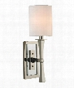 "York 5"" 1 Light Wall Sconce in Polished Nickel"