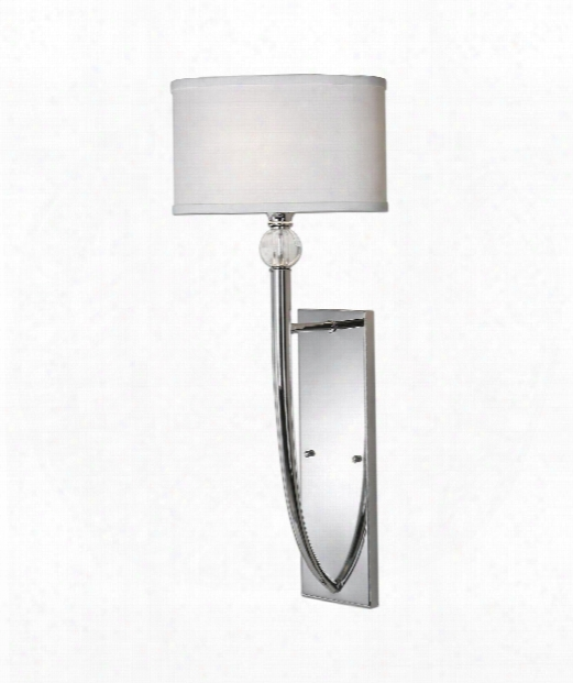 Vanalen 1 Light Wall Sconce In Polished Chrome