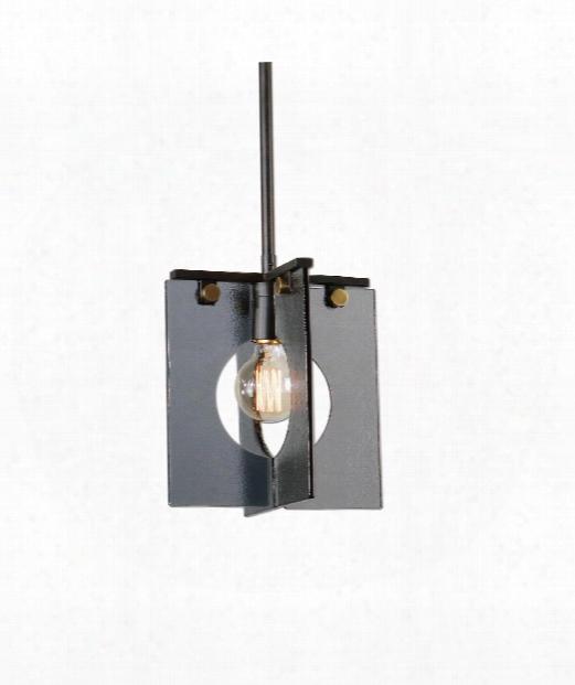 "Vitrum 10"" 1 Light Mini Pendant In Coffee Bronze"