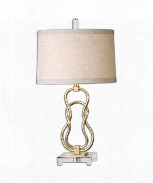 """Adelais 17"""" 1 Light Table Lamp In Antique Gold"""