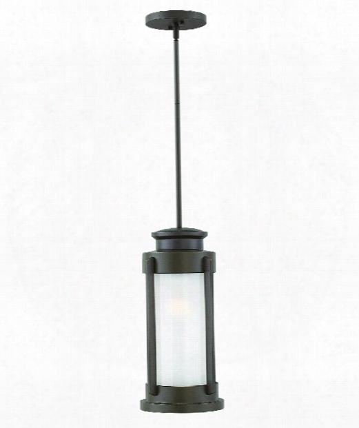 """Briggs 9"""" 1 Light Outdoor Hanging Lantern In Buckeye Bronze"""