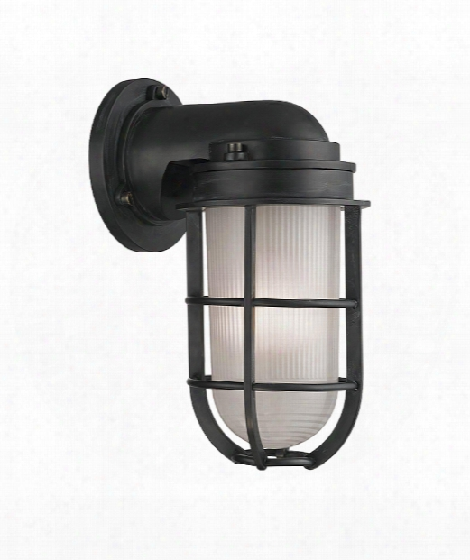 """Carson 5"""" 1 Light Wall Sconce In Aged Zinc"""
