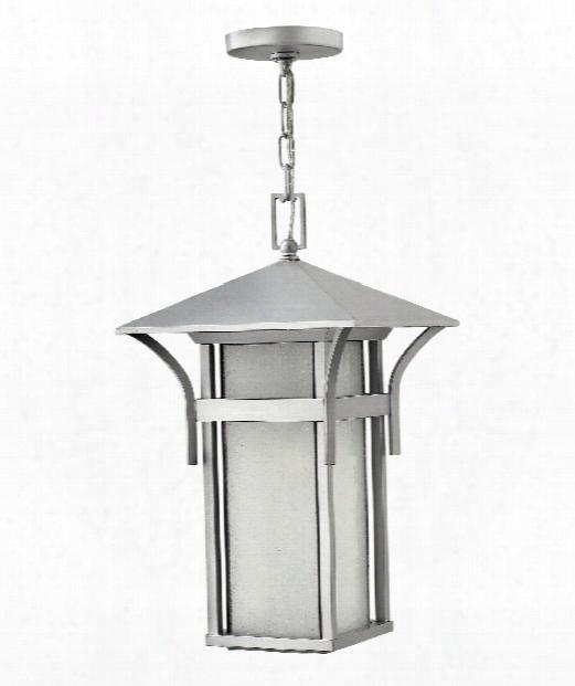 """Harbor 11"""" 1 Light Outdoor Hanging Lantern In Titanium"""