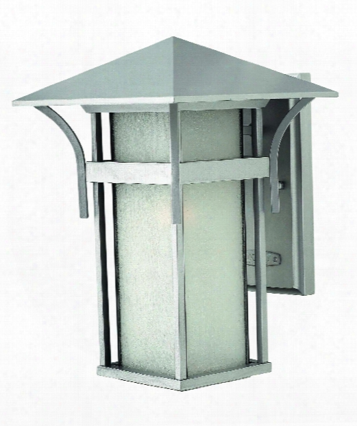 "Harbor 9"" 1 Light Outdoor Outdoor Wall Light In Titanium"