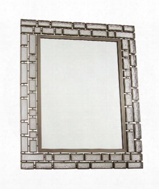 "Harlowe 28"" Wall Mirror In New Bronze"