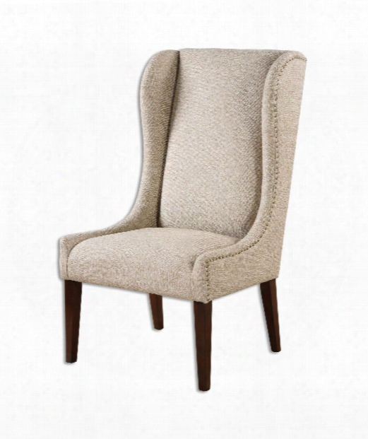 "Kriston 26"" Occasional Chair In Hardwood"