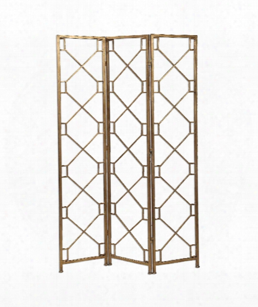 """Lakaya 49"""" Other Home Accent In Antique Gold Leafed"""