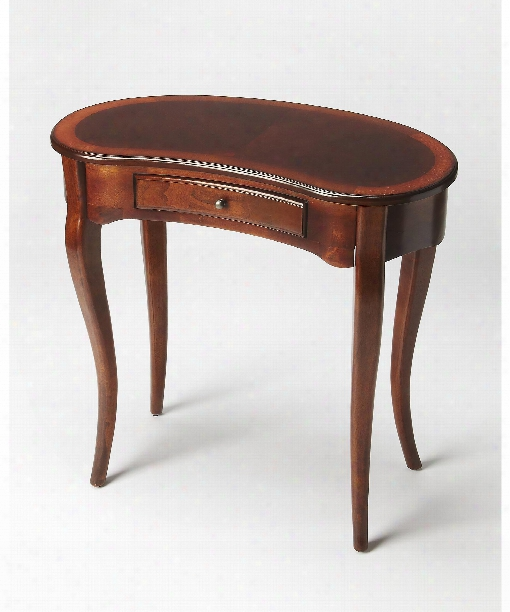 """Plantation Cherry 32"""" Accent Table In Antique Cherry"""