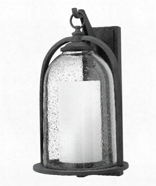 "Quincy 11"" 1 Light Outdoor Outdoor Wall Light In Aged Zinc"