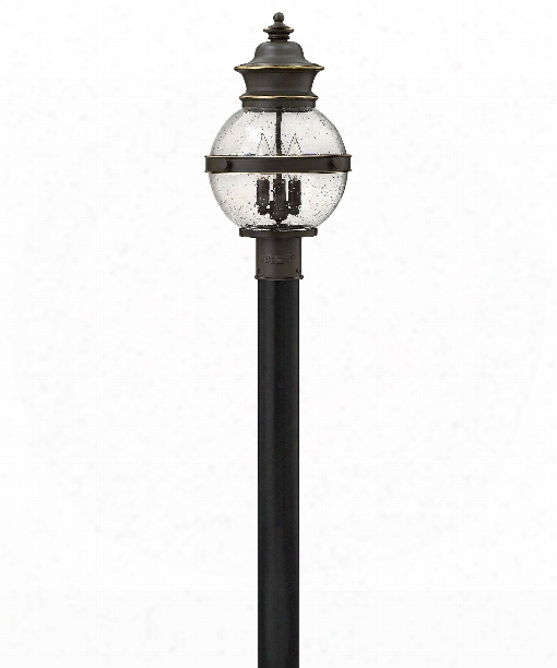 "Saybrook 11"" 3 Light Outdoor Outdoor Post Lamp In Oil Rubbed Bronze"
