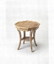 "Masterpiece 24"" End Table in Driftwood Gray"