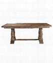 "Stratford 76"" Accent Table in Stony Gray Wash"