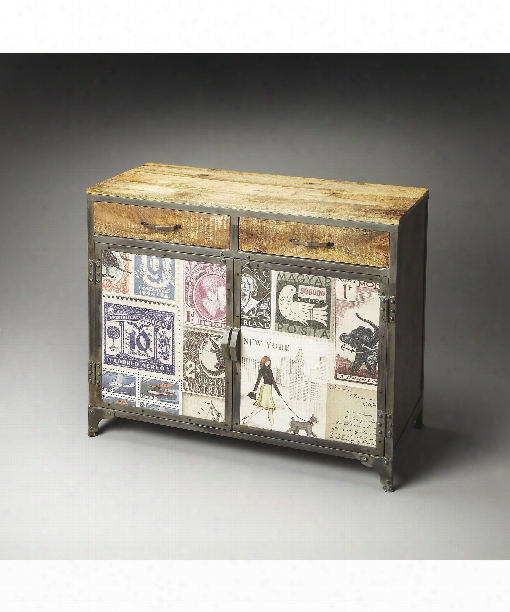 """Vagabond 40"""" Console Cabinet In Artifacts"""