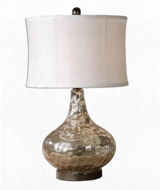 "Vizzini 15"" 1 Light Table Lamp In Sand"