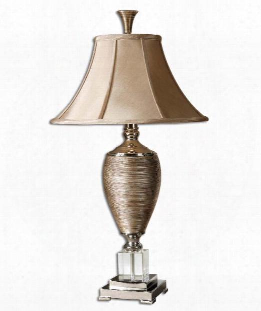 Abriella 1 Light Table Lamp In Metallic Gold